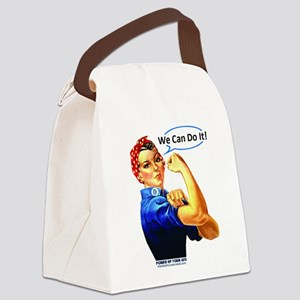 We Can Do It! Canvas Lunch Bag