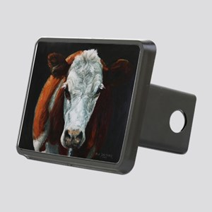 Hereford Cattle Rectangular Hitch Cover