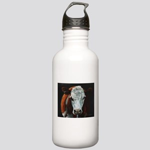 Hereford Cattle Stainless Water Bottle 1.0L