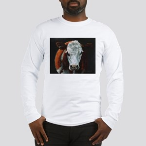 Hereford Cattle Long Sleeve T-Shirt