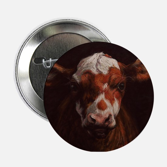 "Hereford Calf 2.25"" Button"