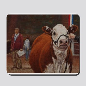 Heifer Class - Hereford Mousepad