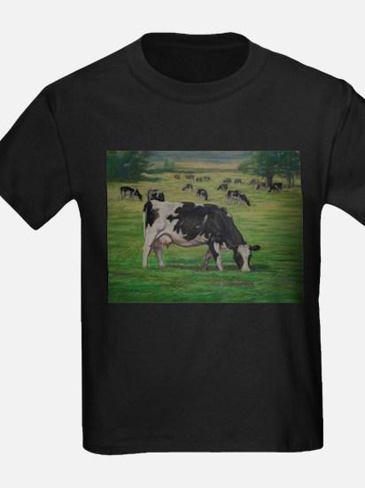 Holstein Milk Cow in Pasture T