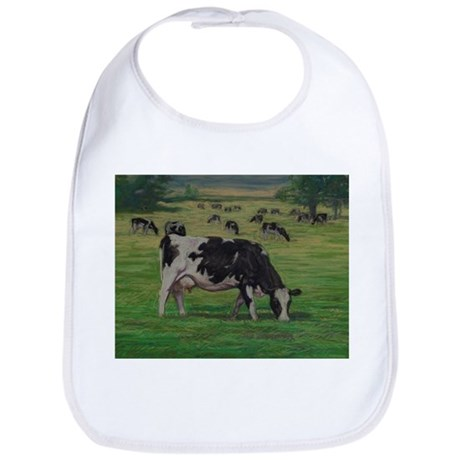 Holstein Milk Cow in Pasture Bib