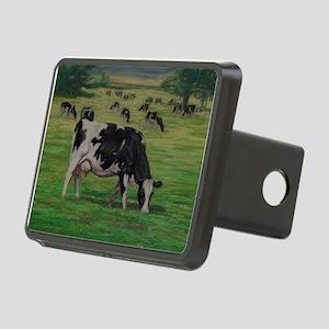 Holstein Milk Cow in Pasture Rectangular Hitch Cov