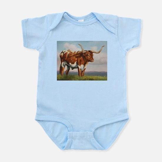 Texas Longhorn Steer Infant Bodysuit