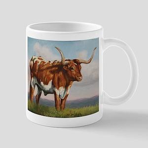 Texas Longhorn Steer Mug