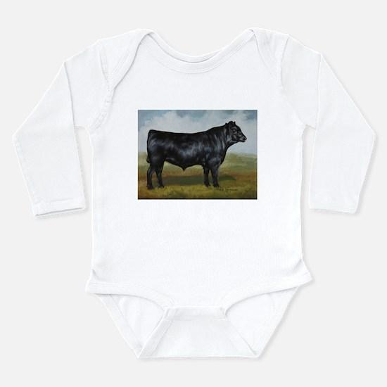 Black Angus Long Sleeve Infant Bodysuit