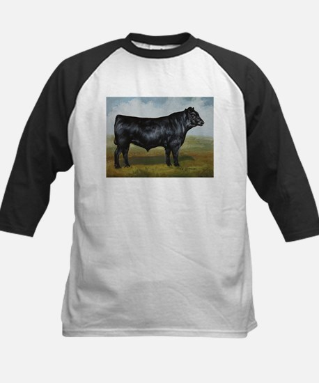 Black Angus Kids Baseball Jersey
