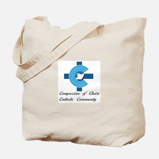 Compassion of Christ Catholic Community Tote Bag