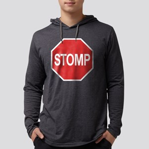 stomp-sign-T Mens Hooded Shirt