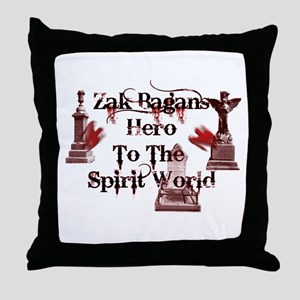 zAK BAGAn HERO Throw Pillow
