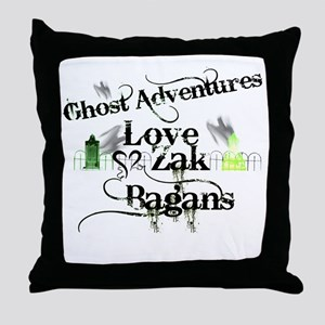 Ghost Adventures5 Throw Pillow