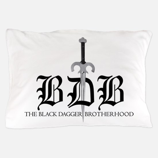 Bdb Dagger Logo Pillow Case