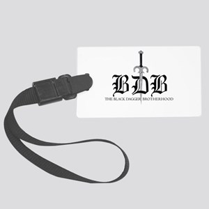 BDB Dagger Logo Large Luggage Tag