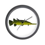 Longnosed Gar Wall Clock