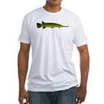 Longnosed Gar Fitted T-Shirt
