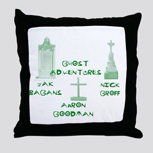 Going Ghost Adventures Tee Throw Pillow