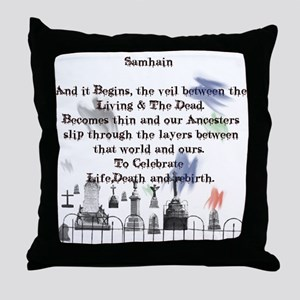 Ghost Among Us3 Throw Pillow