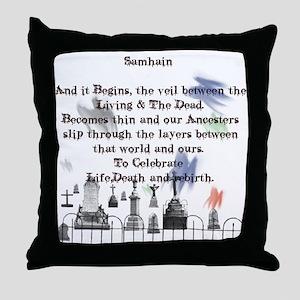 Ghost Among Us3 Throw Pillow