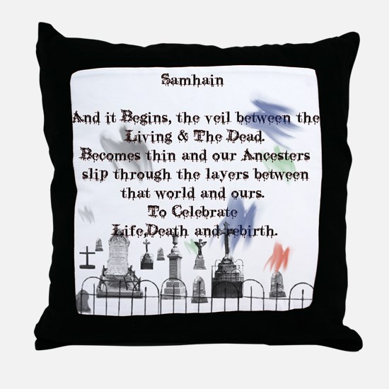 Ghost Among Us3.png Throw Pillow