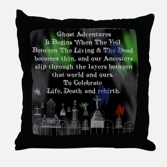 Ghost Among Us5.png Throw Pillow