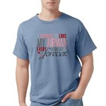 I Promise to love my Air Mens Comfort Colors Shirt
