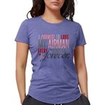 I Promise to love my Airm Womens Tri-blend T-Shirt