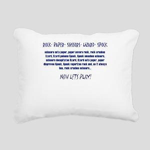 Big Bang Lets Play! Rectangular Canvas Pillow