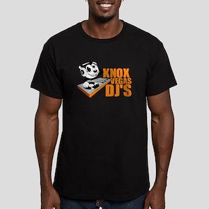 KNOX VEGAS DJ'S Men's Fitted T-Shirt (dark)