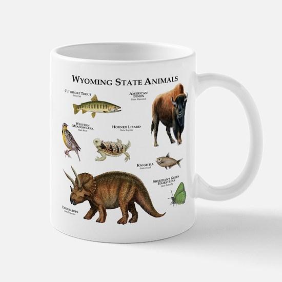 Wyoming State Animals Mug