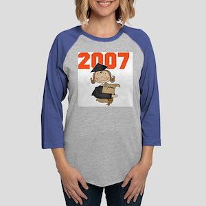 GRADGIRL2007 Womens Baseball Tee