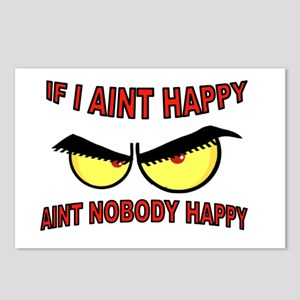 AINT HAPPY Postcards (Package of 8)