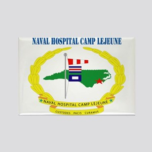 Naval Hospital Camp Lejeune with Text Rectangle Ma