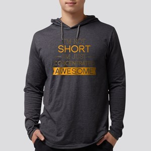 NotShortAwesome1F Mens Hooded Shirt
