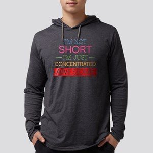 NotShortAwesome1H Mens Hooded Shirt