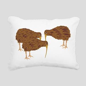 Kiwis Rectangular Canvas Pillow