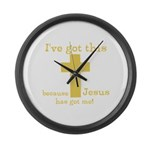 Yellow Ive got this Large Wall Clock
