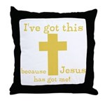 Yellow Ive got this Throw Pillow