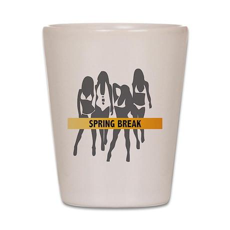 Spring Break Girls Shot Glass