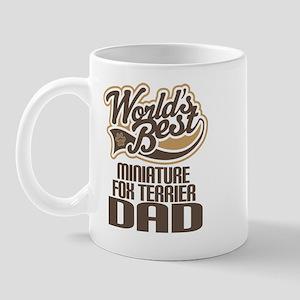 Miniature Fox Terrier Dad Mug