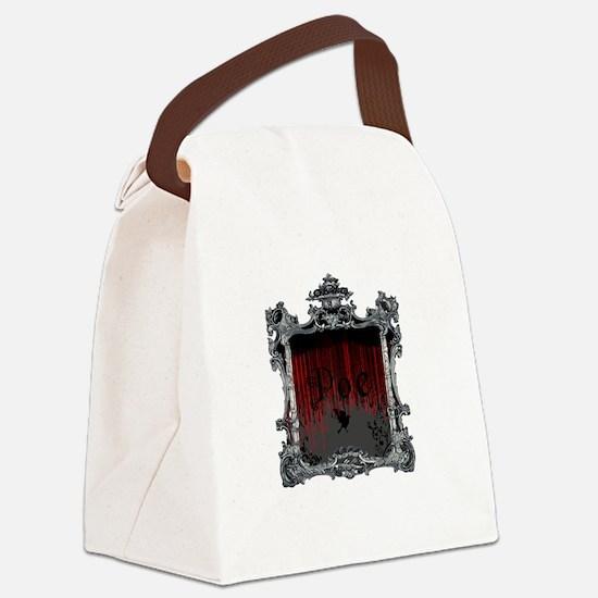 Edgar Alan Poe Canvas Lunch Bag
