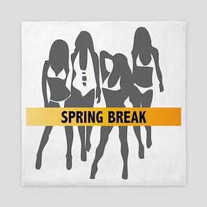Spring Break Girls Queen Duvet