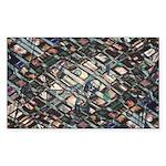 Economic Art Sticker (Rectangle 10 pk)