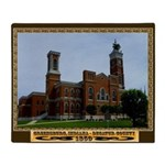 Greensburg Indiana Throw Blanket