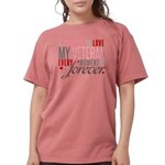I Promise to love my V Womens Comfort Colors Shirt