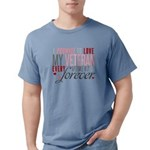 I Promise to love my Vet Mens Comfort Colors Shirt