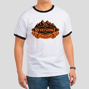Revelstoke Mountain Emblem Ringer T