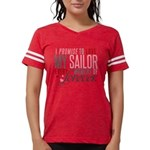 I Promise to love my Sailor Womens Football Shirt