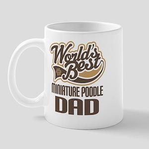 Miniature Poodle Dad Mug